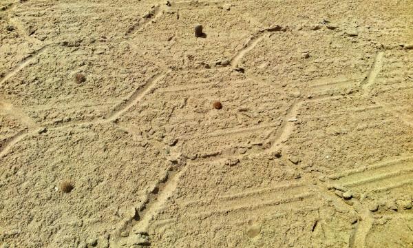 hexágonos playa