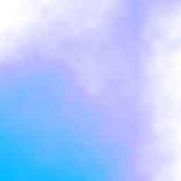 nubes fluorescentes